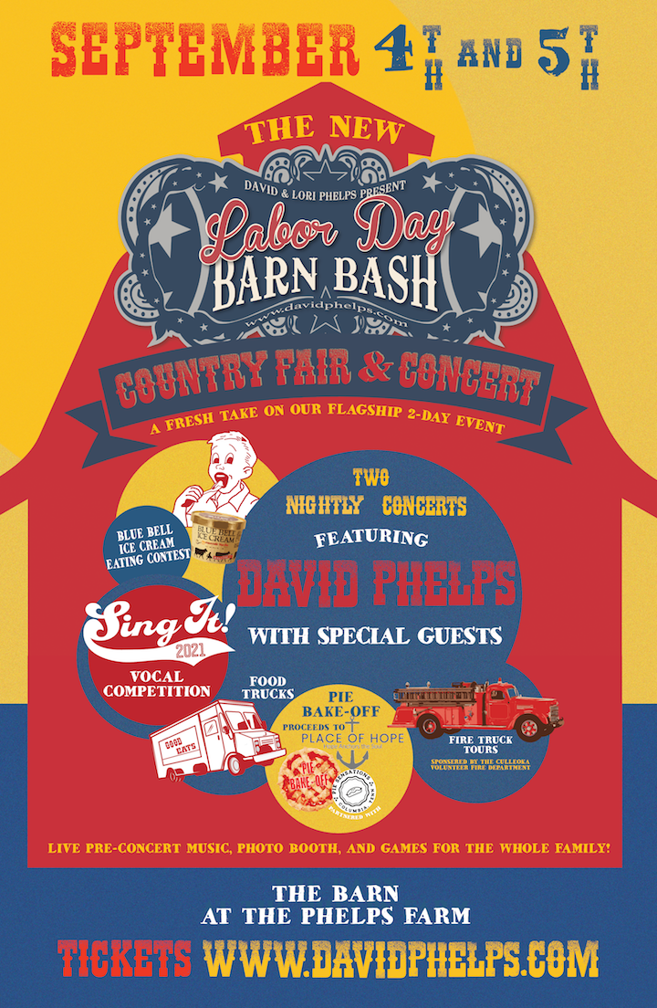 Labor Day Barn Bash: Country Fair & Concert