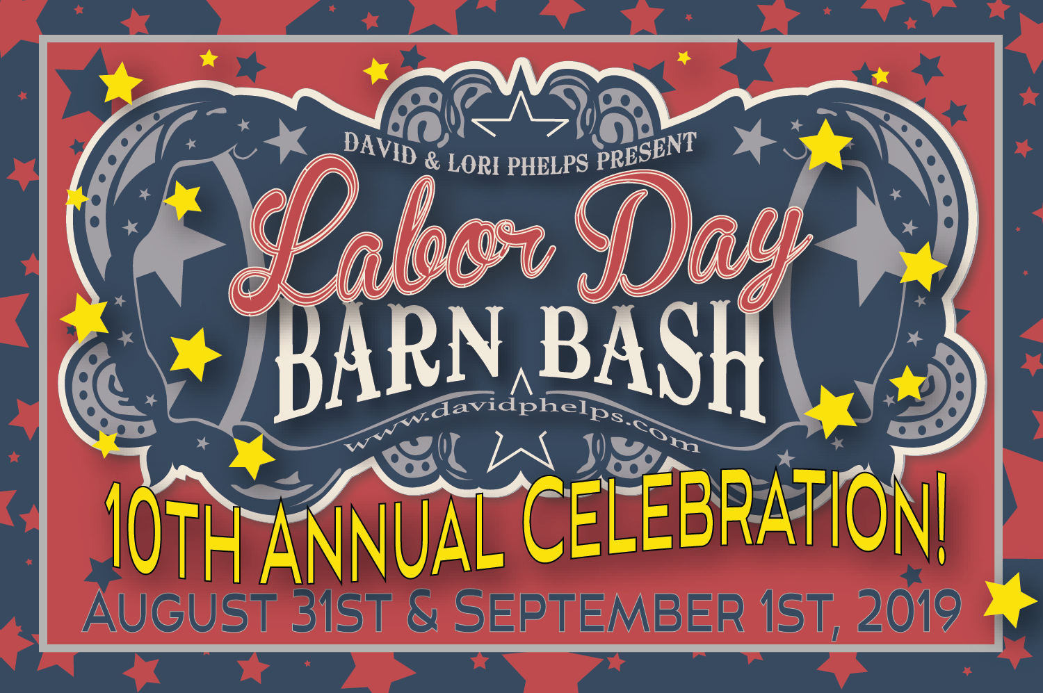 Labor Day Barn Bash 2019: 10th Annual Celebration!