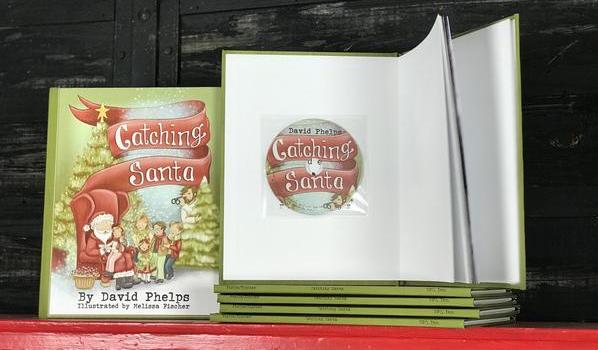 Catching Santa – David's Newest Children's Book Out Now!