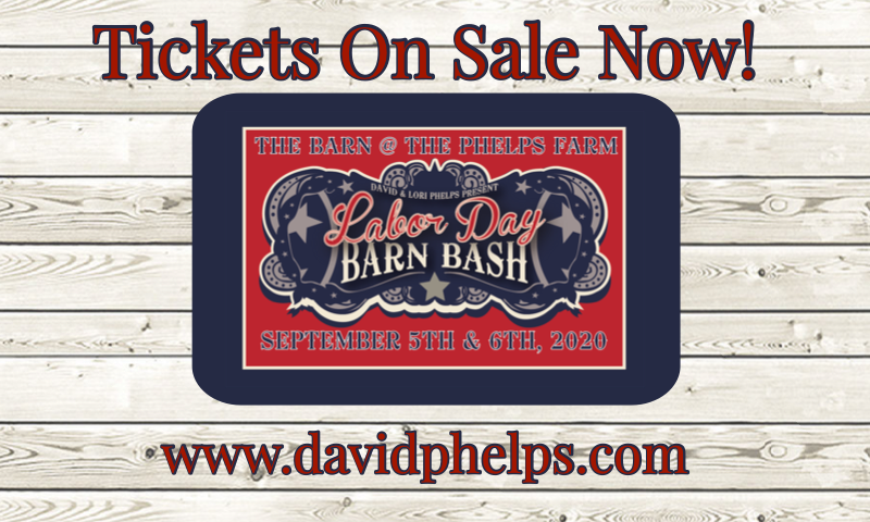 Labor Day Barn Bash 2020 Tickets On Sale Now!