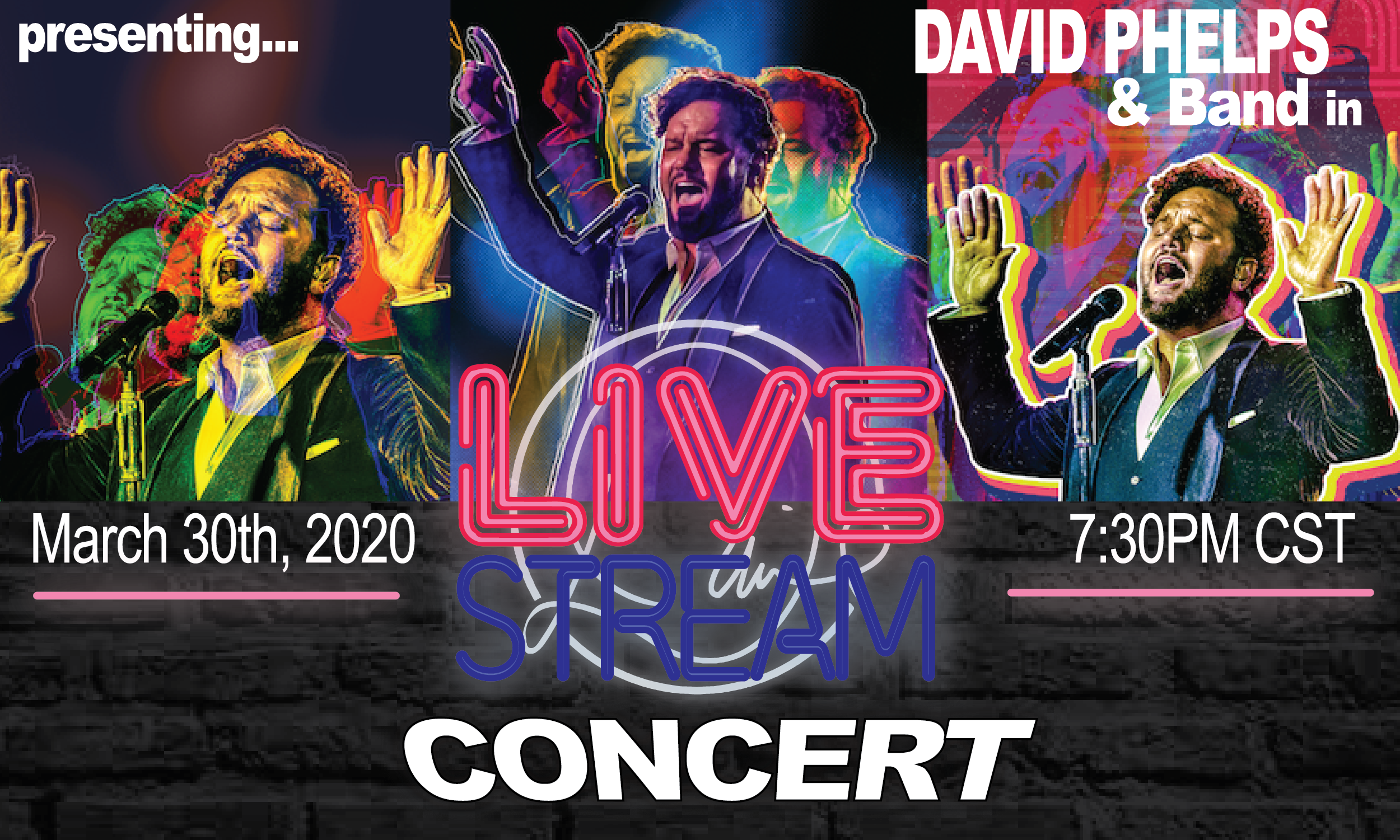 Live Stream Concert March 30th, 2020